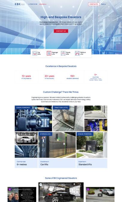 BK Design - lifts